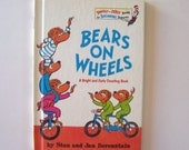 Bears on Wheels by Stan and Jan Berenstain Bright and Early Books for Beginning Beginners - Children's Book, Story Book, Easy Read