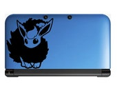 Pokemon Flareon Anime Decal for Nintendo 3ds, Macbooks, Laptop, iPhone, XBox, Playstation, Cars, Windows, Wall