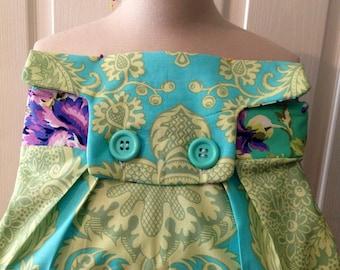 Woman's Clutch purse/ Amy Butler Fabric Clutch/Custom made purse