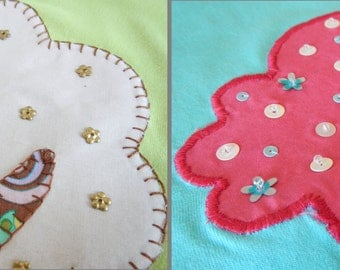 FABRIC APPLIQUE TUTORIAL