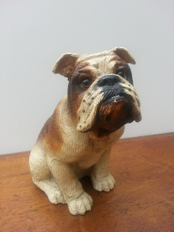 english bulldog figurine vintage english bulldog door stop figurine art by 3901