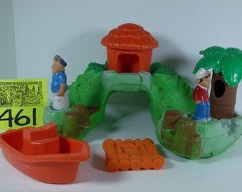 1977 Playskool Gilligans Island Playset