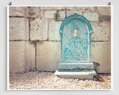 France photography - The fountain - Chartres,France photo,French Fine art,France decor,8x10 wall art,turquoise,Fine art prints,Art Posters