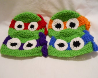 inspired Teenage Mutant Ninja Turtle hat