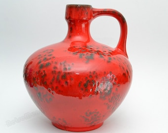 Large West German Fat Lava Ruscha vase 340