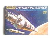 The Race Into Space album tea picture cards book Brooke Bond Bentley collectible aerospace lunar apollo moon mars NASA