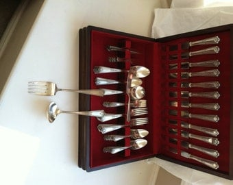 Rogers & Bro AI XII Paisley Pattern Silver Plate Flatware - 1920's