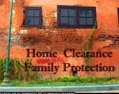 Protect your home space and family. Distant home house and family protection by irish medium annie in Ireland