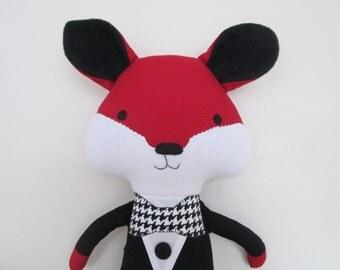 Fox Softie- Mr. Fancy Fox- 19 inch- Readyto Ship