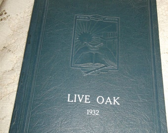 Beaumont CA High School Yearbook Live Oak 1932