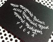 MARGUERITE : Custom Wedding Calligraphy Envelope Addressing