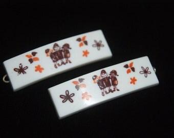 Brownies Barrettes