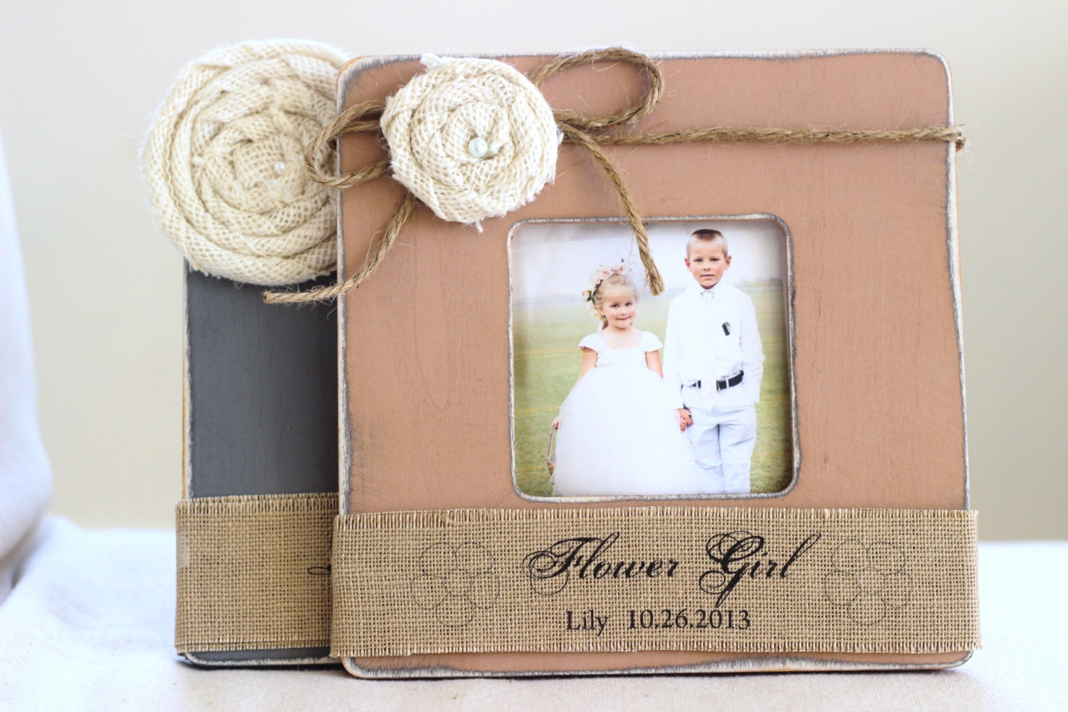 Gifts For Girls On Wedding: Thank You Gift For Flower Girl And Ring Bearer By