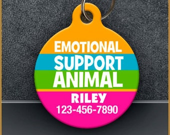 Emotional Support Animal PET ID TAGS