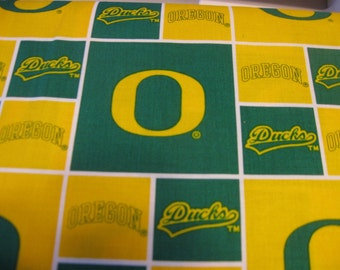 University of Oregon FABRIC Sold by the YARD New Licensed Go DUCKS