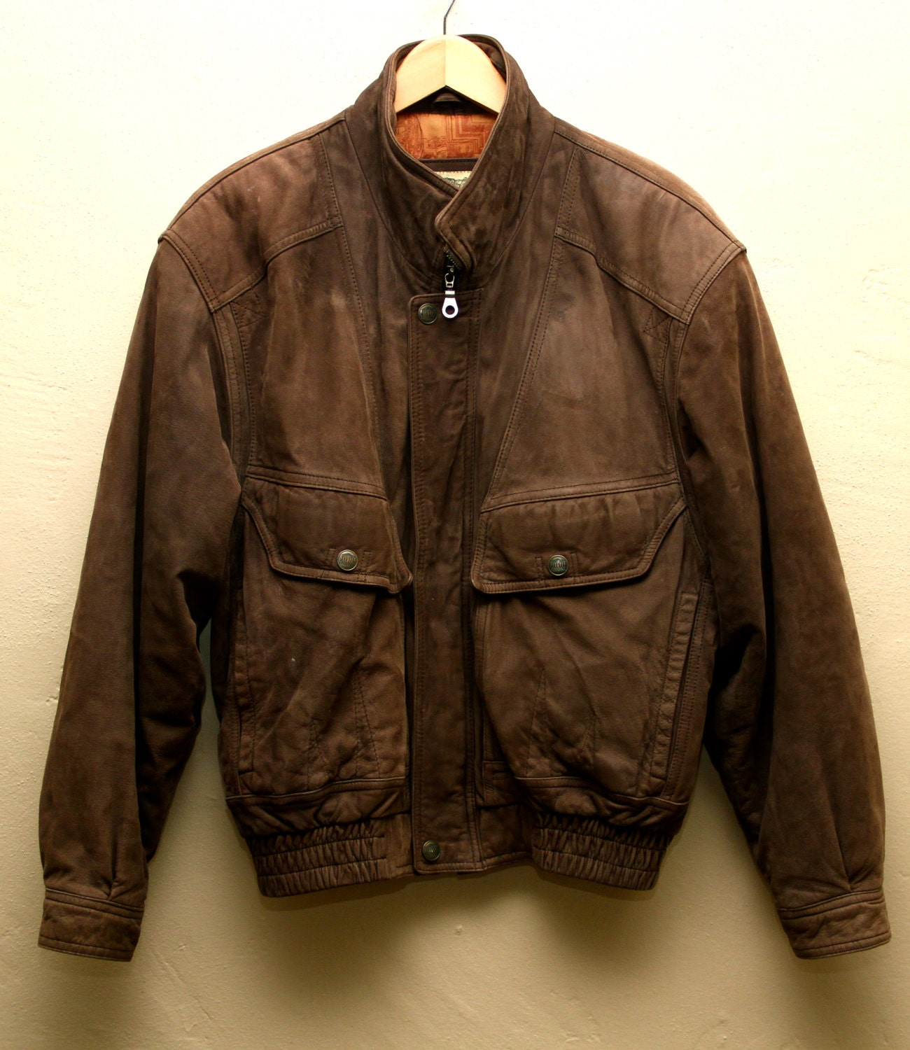 Leather Pilot Jackets: Sort By: The Cockpit Navy G-1 Antique Lamb Leather Jacket (Dark Brown) Made in the USA! Favored by bomber crews during WWll, the B-3 was brought into service around Made with % vintage lambskin and created with military styling.