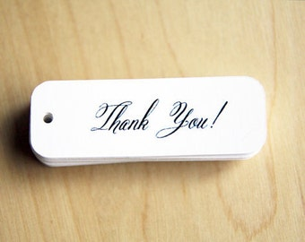 Mini Thank You Tags - Pack of 36