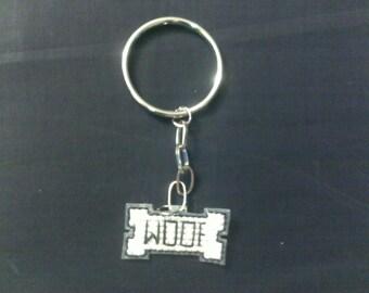 Woof Keychain