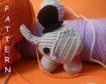 Peanut Big Top Elephant PATTERN