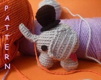 Peanut Big Top Elephant PATTERN