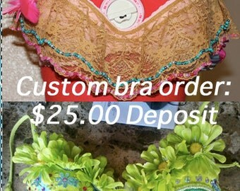 Custom Bra Order Deposits!