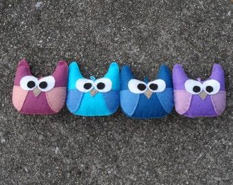 Custom! Owl/Owlet Stuffed Plush Ornament