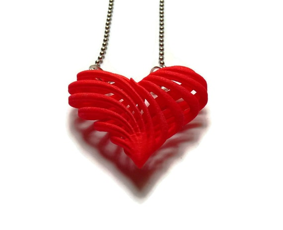 3d printed jewelry pendant necklace my twisted