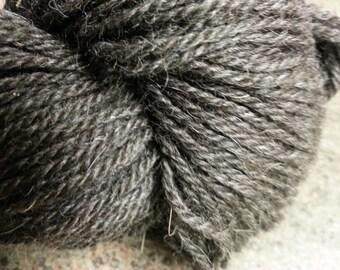 black alpaca CVM tencel angora DK weight yarn,