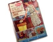 Vintage Unopened Package of Kordite Wastebasket Liners in Original Sealed Package 1960's