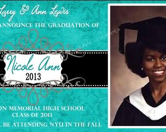 Graduation Announcement Item 00235