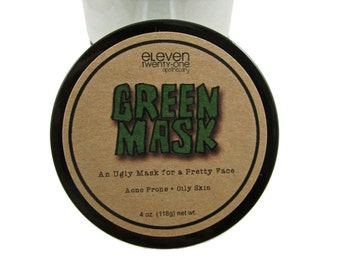 Green Clay Acne Mask, Green Mask: For Unruly Skin