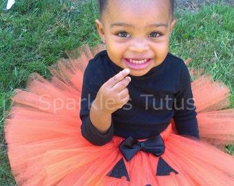 Halloween Pumpkin Jack O Lantern Tutu Set