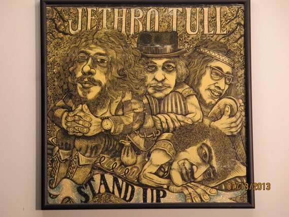 Glittered Record Album - Jethro Tull - Stand Up