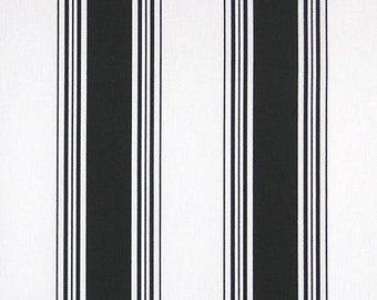 Black and white stripe table runners