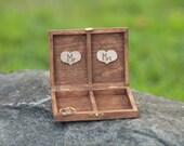 Wedding Ring Box Rustic Wedding