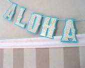 ALOHA BITCHES Banner - Bachelorette Party, Bridal Shower, Wedding Shower Decorations