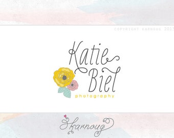 Custom, Premade, Photography Logo Design, Flower, Modern logo