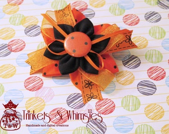 Orange You Glad Hair Clip