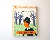Vintage children book / Yugoslavian vintage childrens book / France Bevk - Mali buntovnik