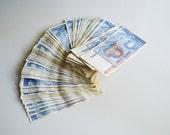 Yugoslavian money lot of 100 pieces / Yugoslavian inflation money Yugoslavian Dinar Vintage currency / Banknote lot / Vintage bills