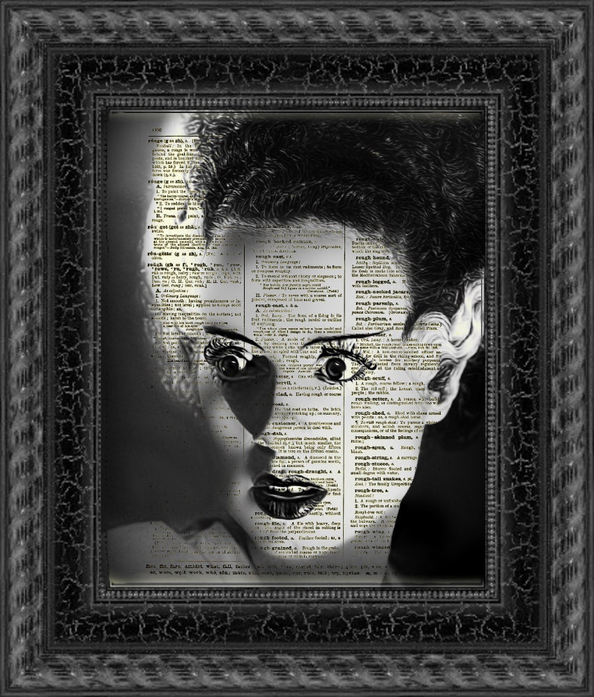bride of frankenstein halloween decor frankenstein 39 s. Black Bedroom Furniture Sets. Home Design Ideas