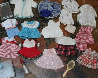 1950s Vintage Toddler Doll Clothes Lot
