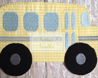 The Wheels On The Bus: School Bus Accessory for Felt Doll