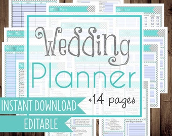 50 off wedding planner diy wedding binder wedding planner printables