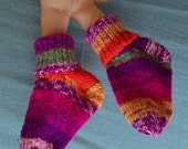 For your Baby Girl - Hand Knit Socks