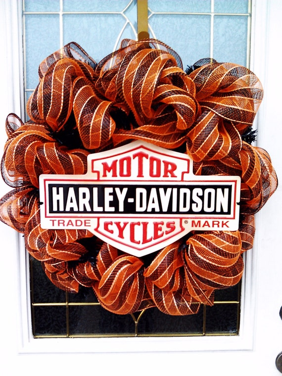 Unavailable listing on etsy for Deco harley davidson