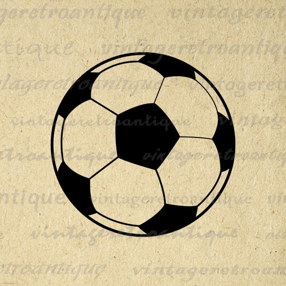 It is a photo of Soccer Ball Printable pertaining to vector