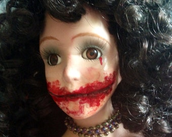 The Black Dahlia Elizabeth Short altered doll