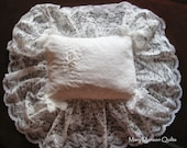 Wedding Dress Pillow - custom made from your wedding dress!