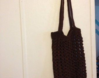 Crocheted Nylon Market/ Beach Bag